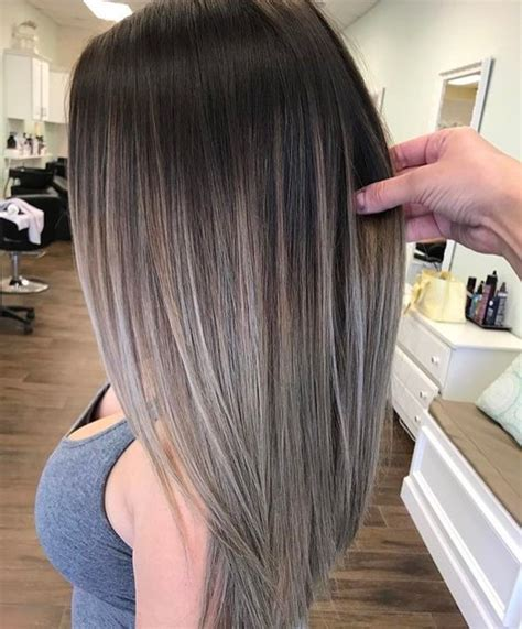 ash color 35 smoky and sophisticated ash brown hair color looks