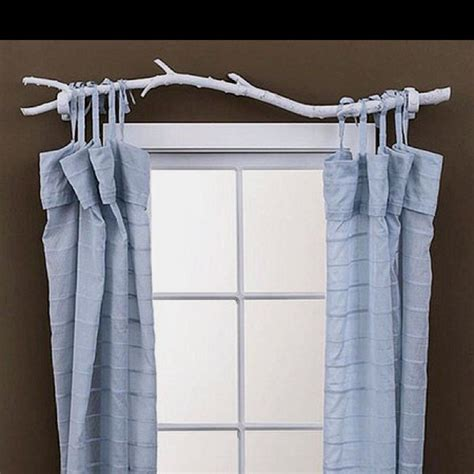 alternative curtain rods easy alternative to curtain rod make it yourself stuff