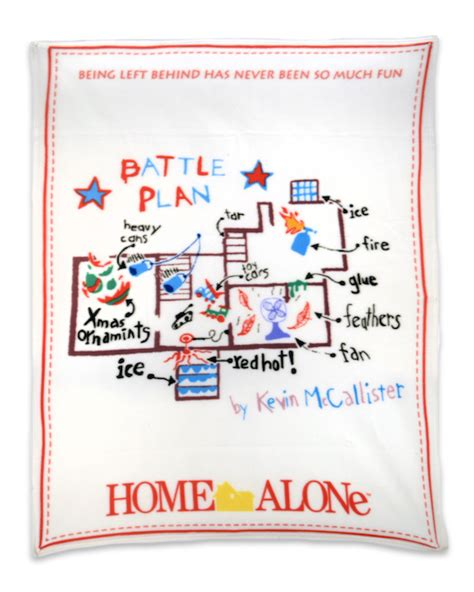 home alone fleece throw battle plan necaonline