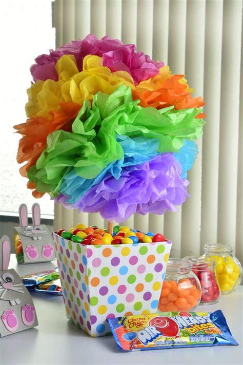 como decorar dulceros con papel china las 25 mejores ideas sobre decoraciones de circo en