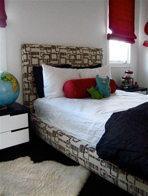 boys twin headboard upholstered twin headboard contemporary boy s room