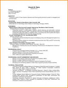 Resume Exles For Students With No Work Experience by 6 Resumes With No Experience Ledger Paper