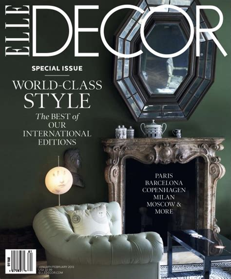elle decor magazine at the newsstand 5 interiors 5 products 15 resources