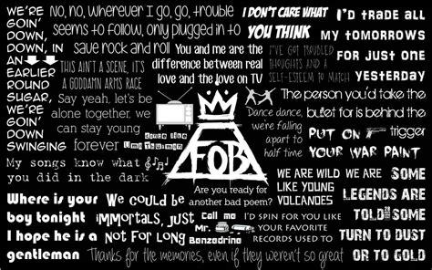 printable centuries lyrics fall out boy lyric art quotes