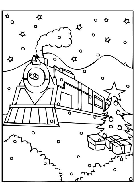 Polar Express Coloring Page polar express coloring pages best coloring pages for