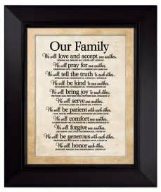 Home Decor Wall Plaques Our Family Large Wall Plaque Lordsart