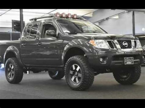lifted nissan frontier for sale 2012 nissan frontier sv v6 1 owner local trade lifted new
