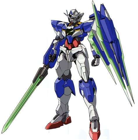 gundam 00 mobile suits gnt 0000 00 qan t mobile suit gundam 00 zerochan