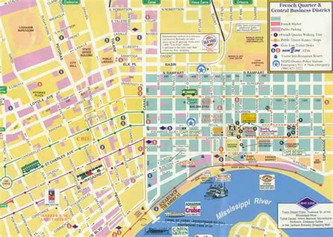 Garden District New Orleans Walking Tour Map by New Orleans Garden District Map New Orleans New