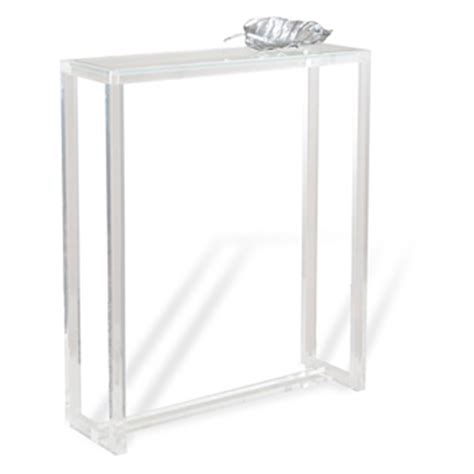 Ghost Console Table Ghost 36x30 Console Table Luxe Home Company