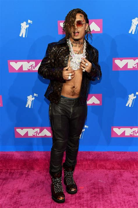 lil pump vma outfit mtv vmas 2018 here s best the red carpet fashion looks