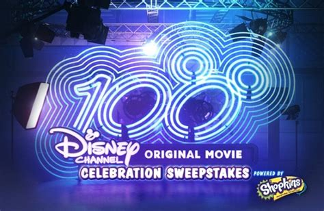 Disney Channel Sweepstakes Shopkins - 100th disney channel original movie celebration sweepstakes sweepstakesbible