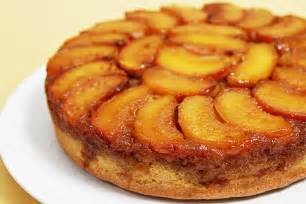 peach upside down cake with cognac caramel recipe food amp style