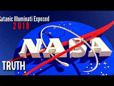 nasa illuminati nasa satanic illuminati exposed 2018