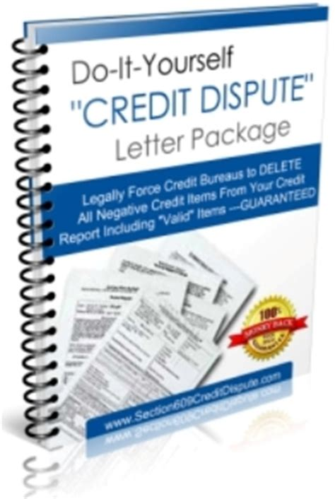 Section 609 Credit Letter i want info