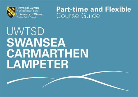 Of St Part Time Flex Mba by Uwtsd Part Time And Course Guide By Of
