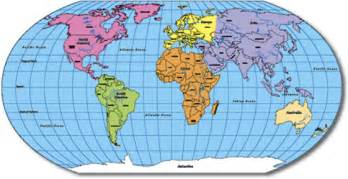 Map Of The World Labeled by Gallery For Gt Labeled World Map For Kids