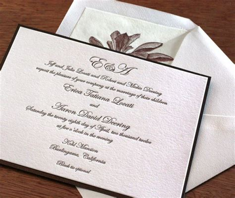 Wedding Attire Wording by Wedding Invitation Wording Dress Codes Letterpress