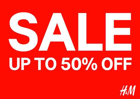 Sle Sale Season Starts by H M Sale Up To 50 Whereonsale