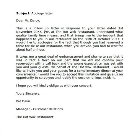 Apology Letter To My Client the 50 best apologize letter to client apology letters