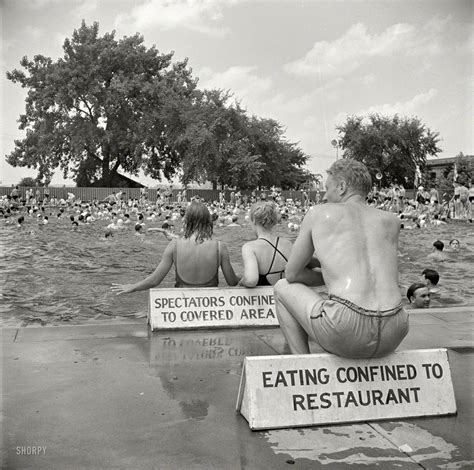 Pictures Of Swimming Pool by Shorpy Historic Picture Archive Pool Rules 1942 High