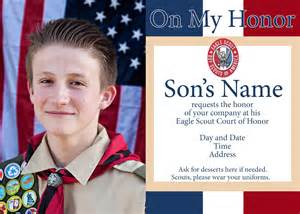 Eagle Scout Invitation Template by Eagle Scout Court Of Honor Ideas And Free Printables