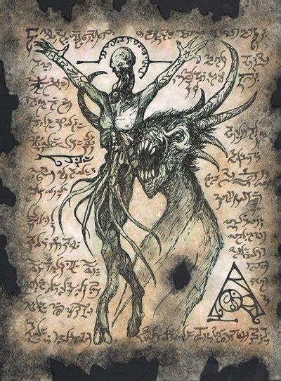 libro the art of horror necronomicon fragment 007 necronomicon