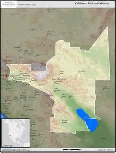 california redlands mission california redlands mission map