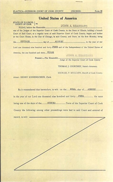 Divorce Decree Records Connie Nelson S Genealogy Decree For Divorce Index