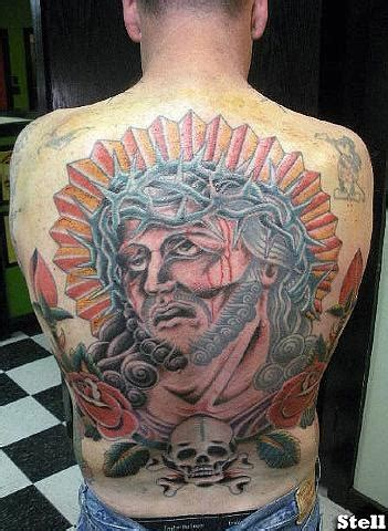 jesus richard stell tattoos tattooes