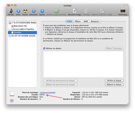 format ipod exfat mac os x et exfat 231 a fonctionne le journal du lapin