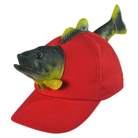 something special 3d fish snapback baseball cap novelty