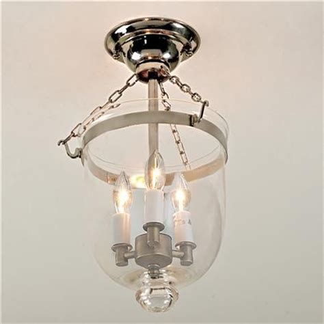 mini smokebell semi flush ceiling lantern 2nd floor