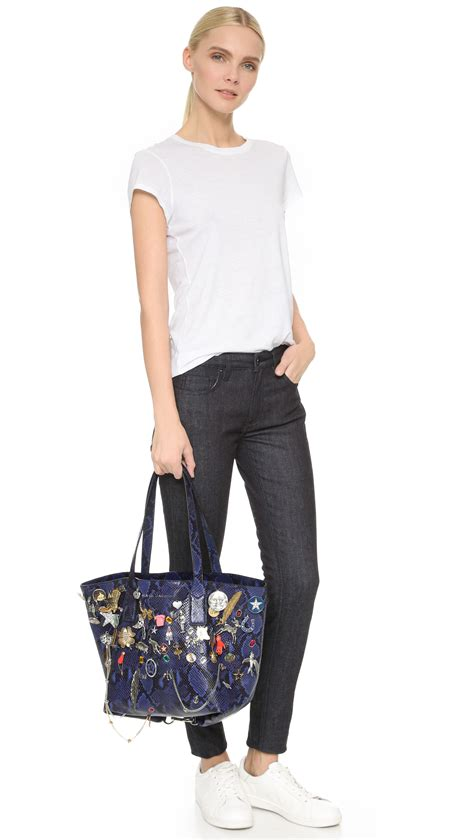 Marc By Marc Softly Mighty Weekender by Marc Medium Wingman Embellished Shopping Bag In