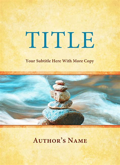 book cover design template for 5 375 x 7 375 inch book