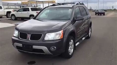 ford crossover 2007 grey 2007 pontiac torrent awd crossover suv at scougall