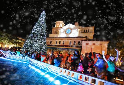 cityplace s tree lighting snowfall fun palm beach live