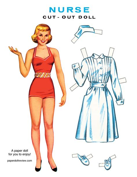 Paper Doll - hellllo paper doll pin ups