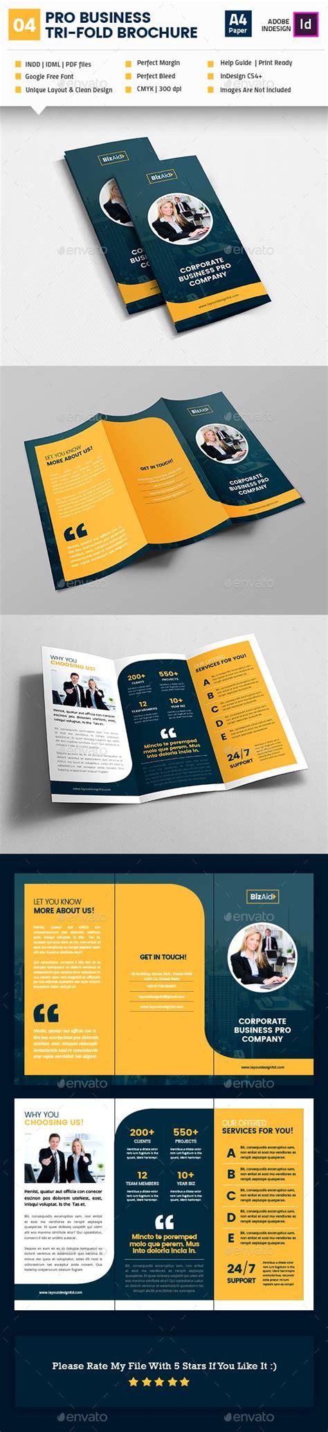 brochure layout sles ideas 25 best ideas about brochure design on pinterest