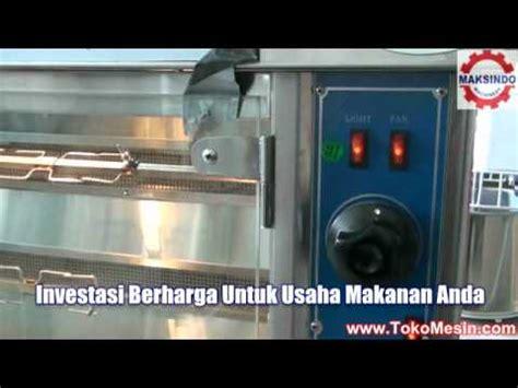 Pemanggang Ayam Golek mesin ayam panggang mini doovi