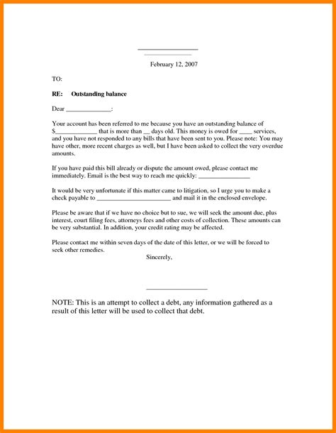 letter of demand for payment template demand payment letter pertamini co