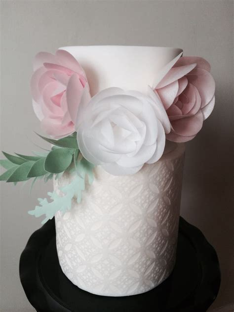 wafer paper roses tutorial 17 best images about wafer paper on pinterest flower