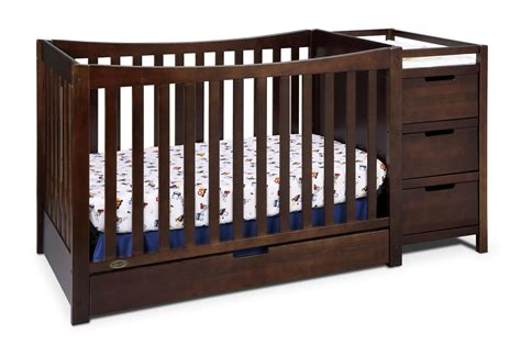 Crib With Changing Table Graco Remi Crib And Changing Table