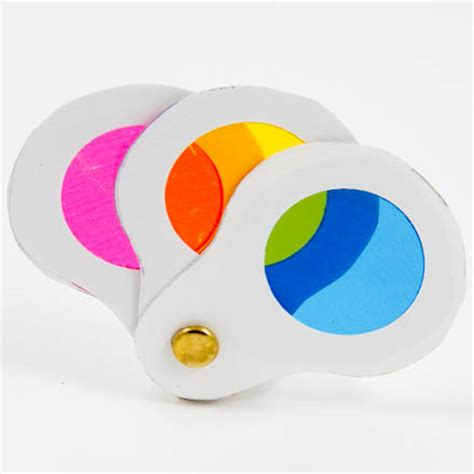 color craft for how to make a glass color wheel friday craft