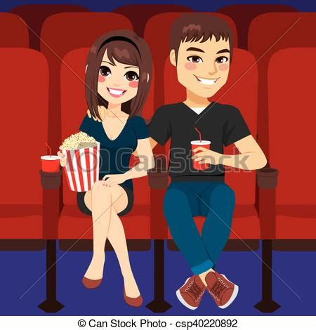 cinema date cinema date together on date at