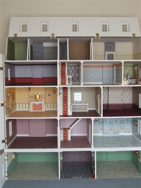 dolls house collectors price reduced stunning dolls house collectors 12th scale cottesmore basement
