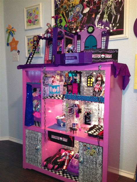 monster high wooden doll house 25 best ideas about monster high crafts on pinterest
