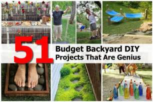 yard projects 51 budget backyard diy projects that are genius