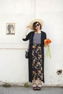 Striped And Floral Skirt feminine dressing tips for glam radar