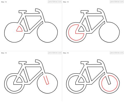 How To Draw A Bicycle Step By Step For how to draw a bicycle step by step pencil drawing